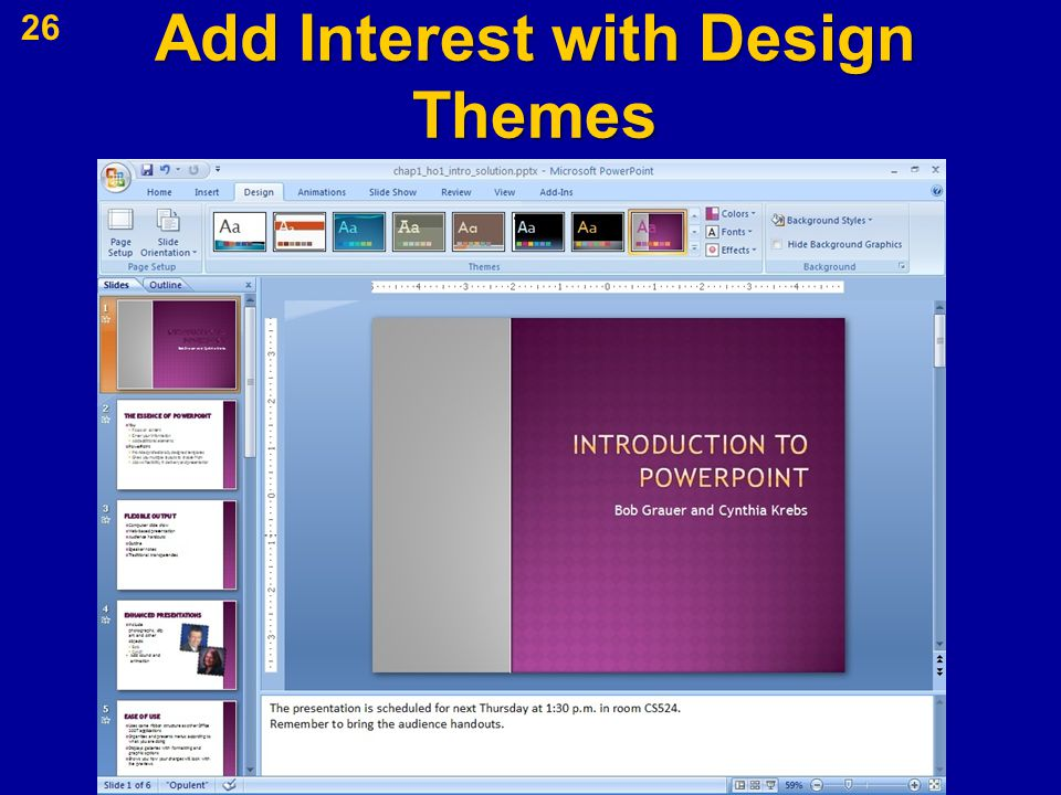 Add Interest with Design Themes 26