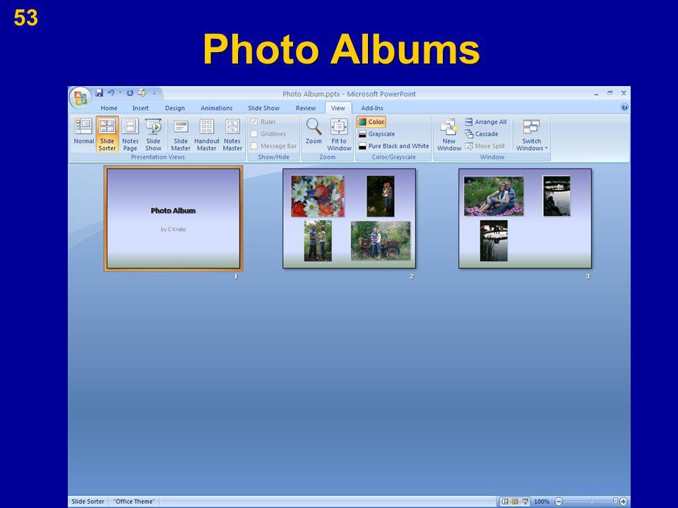 Photo Albums 53