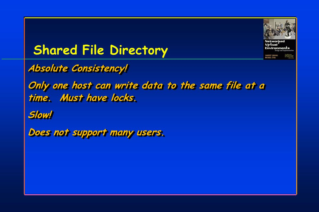 Shared File Directory Absolute Consistency.