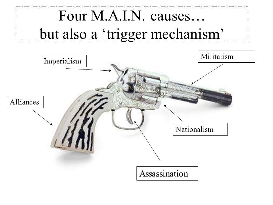 Four M.A.I.N.