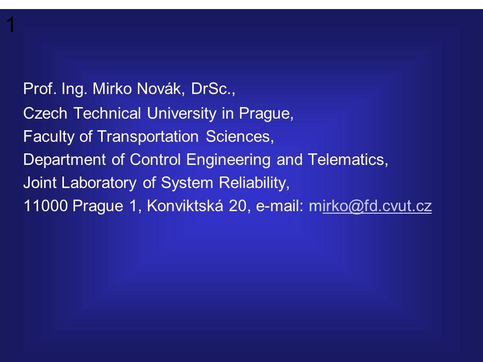 1 Prof. Ing.