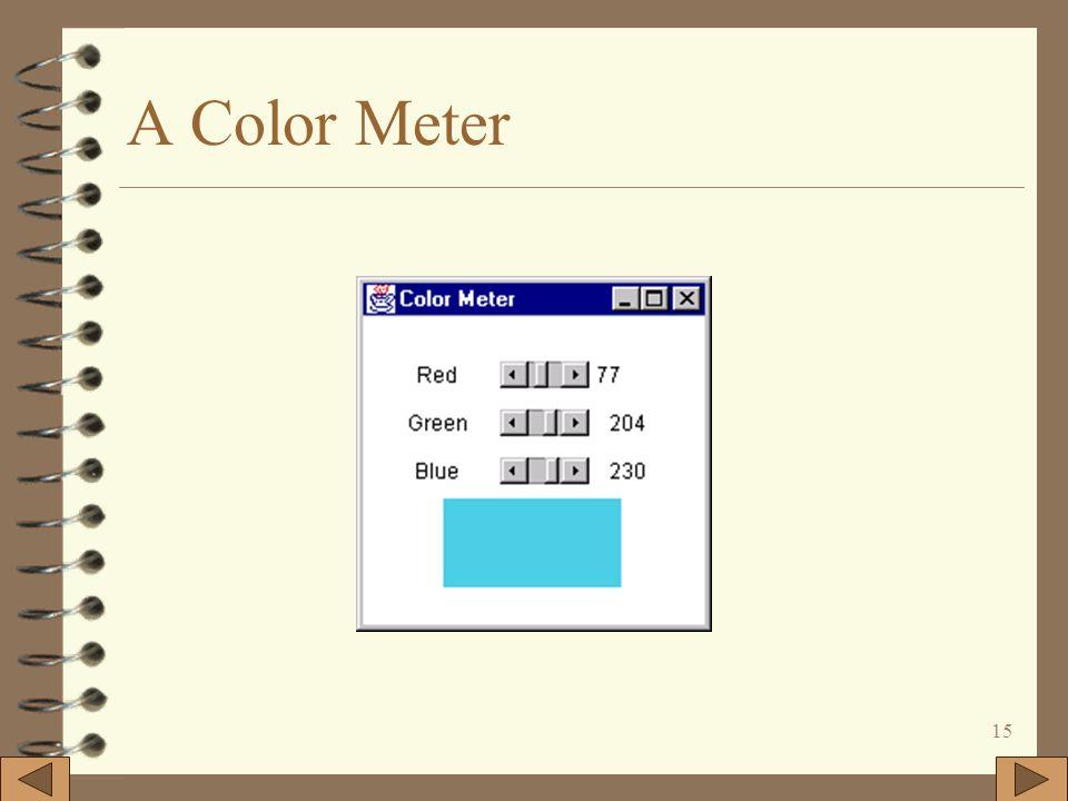 15 A Color Meter
