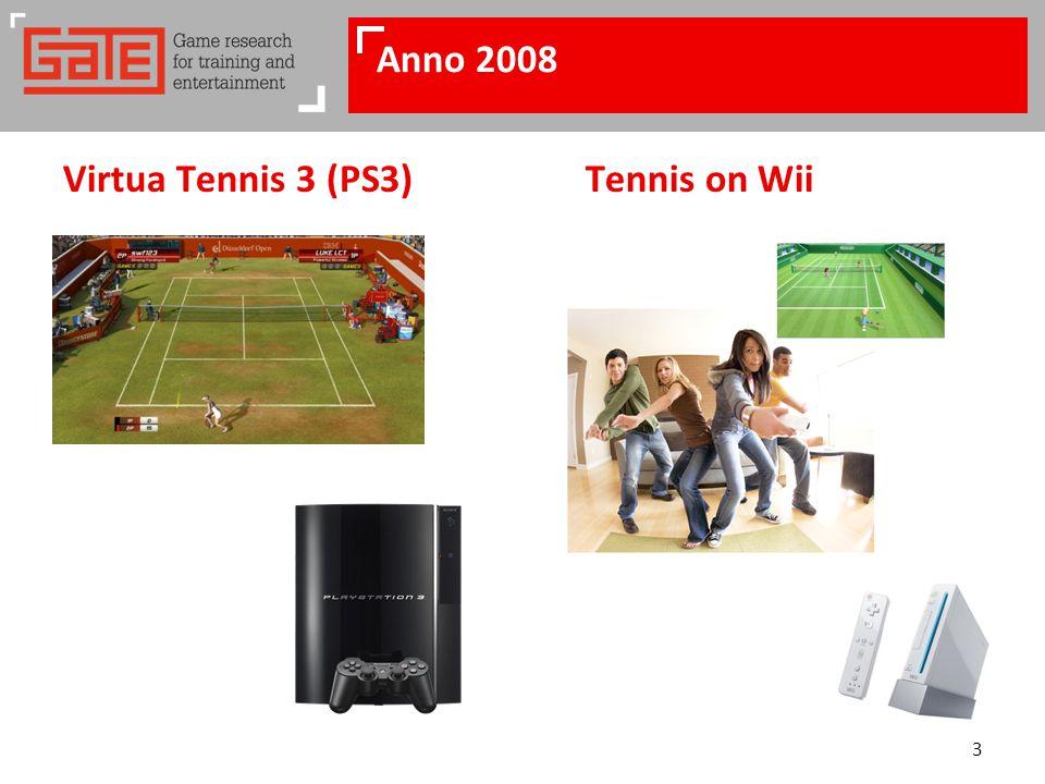 3 Anno 2008 Virtua Tennis 3 (PS3)Tennis on Wii