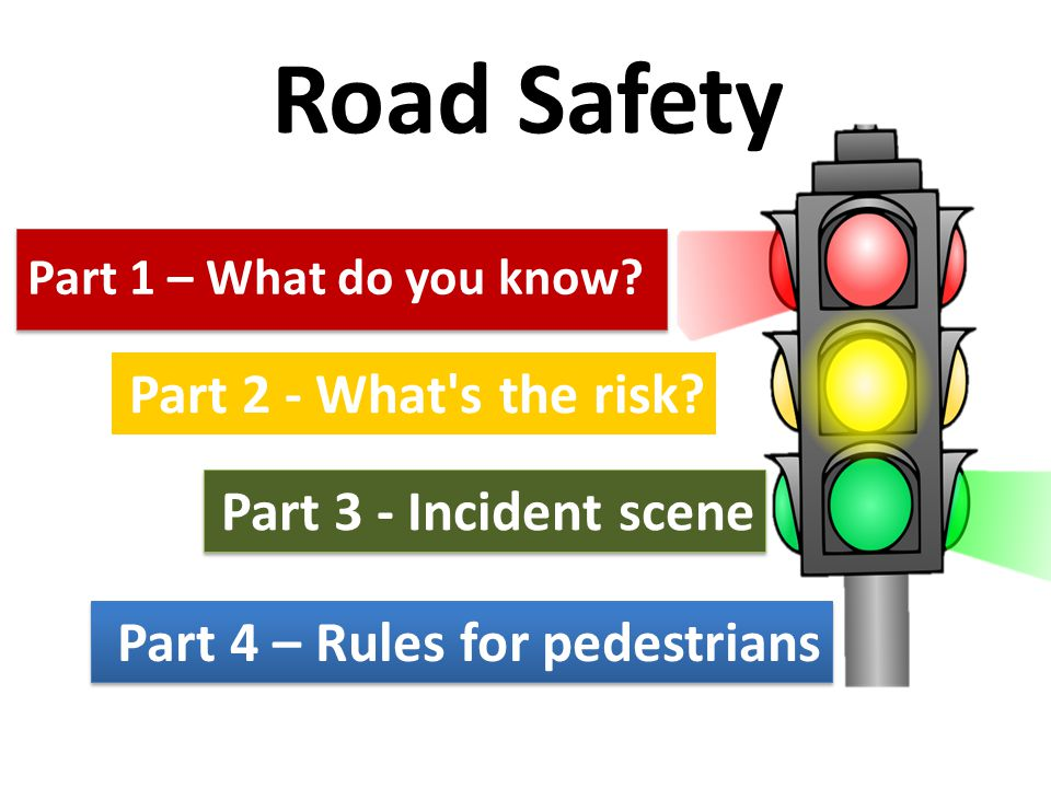 Road Safety Part 1 – What do you know?
