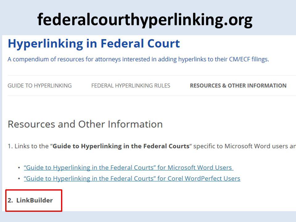 federalcourthyperlinking.org