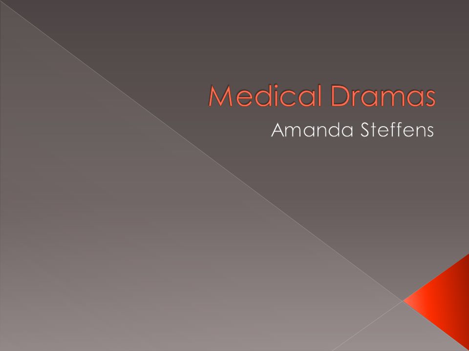  Ultimately medical dramas are so popular because they keep the viewers interested by somewhat incorporating controversial issues into the episodes but never solve or take a position on the issue.