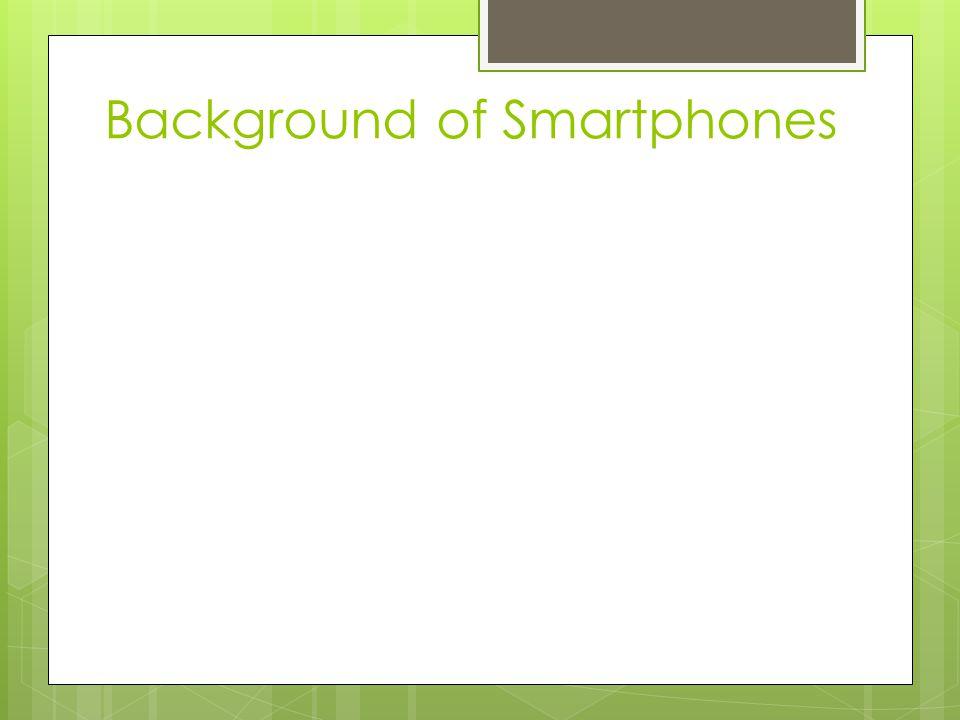 Background of Smartphones