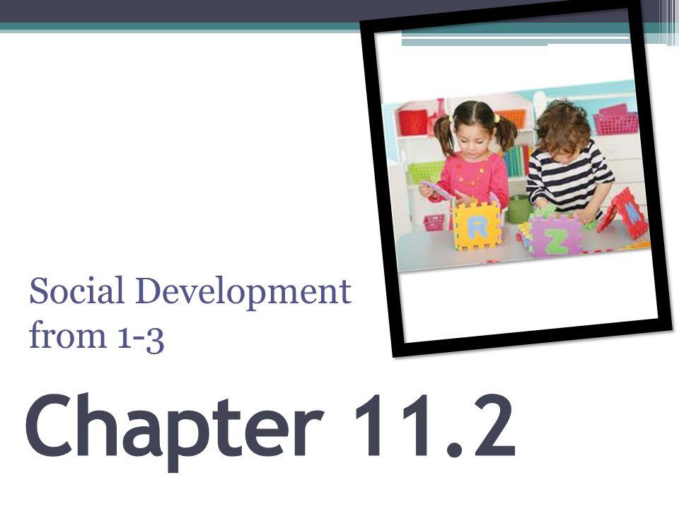 Chapter 11.2 Social Development from 1-3