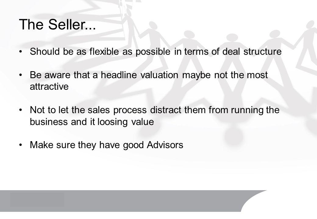 The Seller...