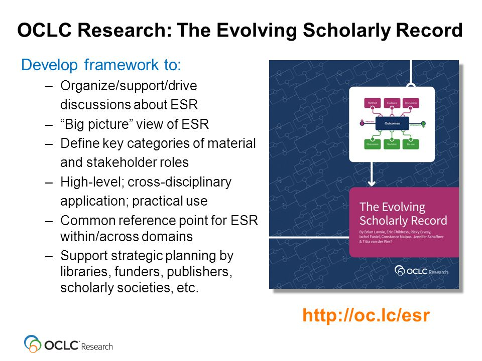 Framing the Scholarly Record … 6