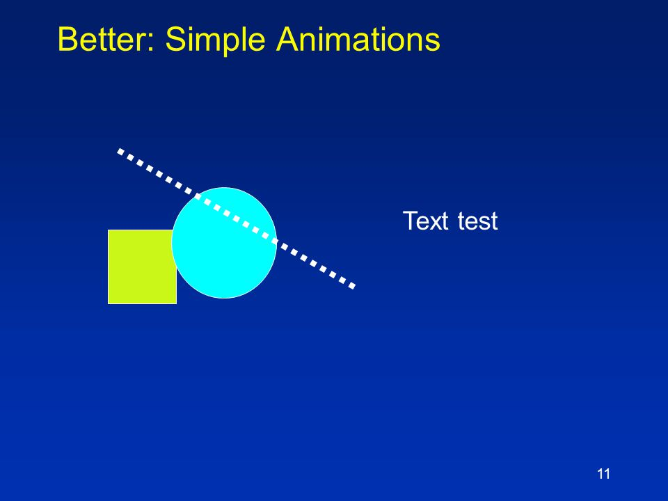 10 Annoying: Many Different Animations Text test