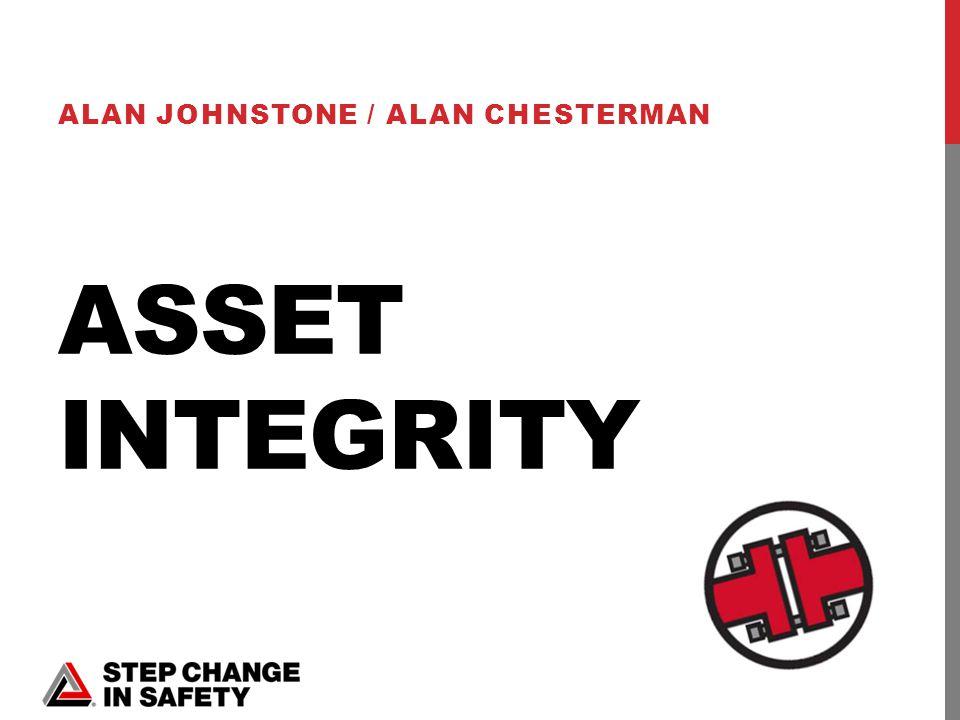 ASSET INTEGRITY ALAN JOHNSTONE / ALAN CHESTERMAN