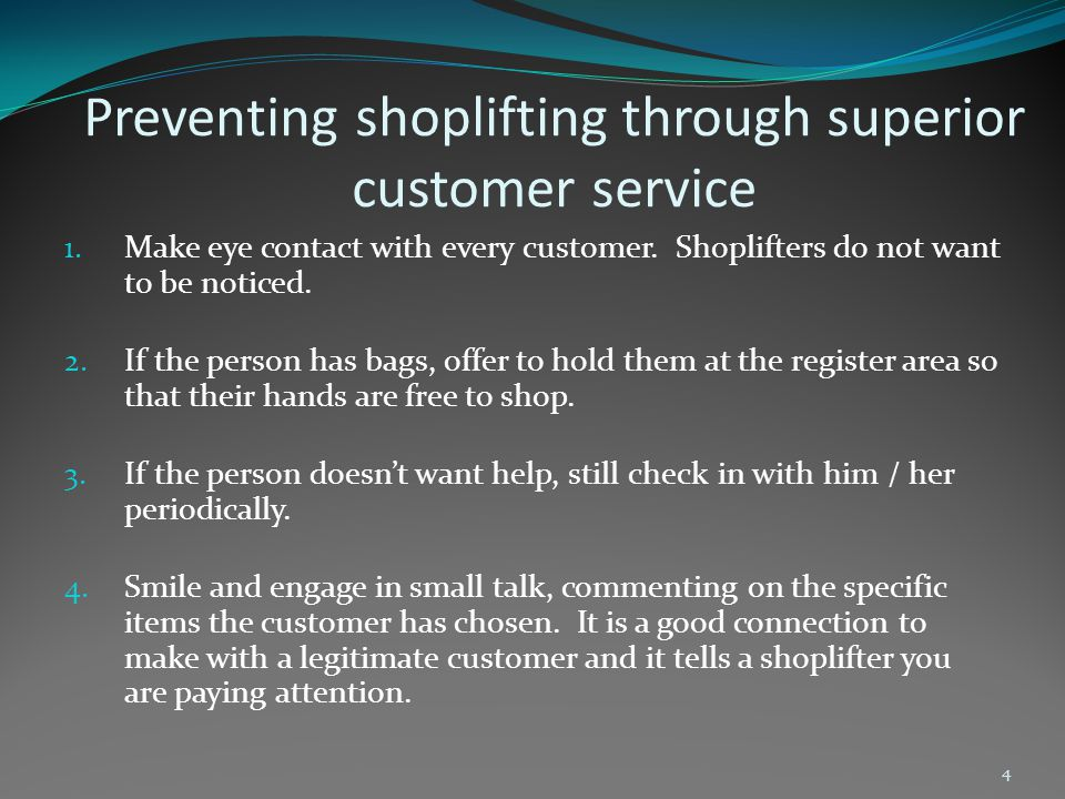 Setting up your store anti shoplifter 1.