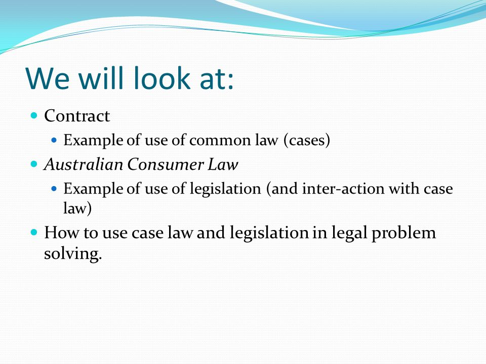 What is a contract? How do we know whether or not a contract has been formed? Case law