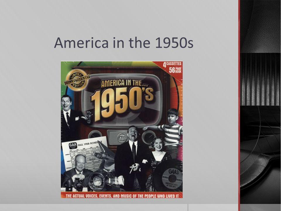 America in the 1950s