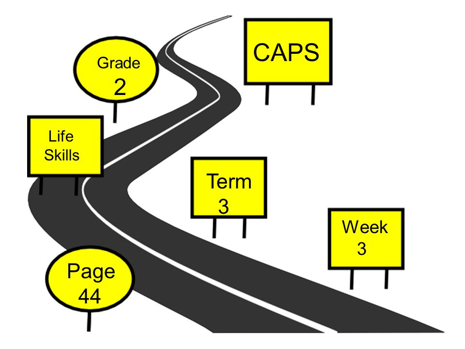 Implementation This Power Point can be used at the beginning of your lesson on road safety First introduce this story to your learners as it will lay a good background of road safety This story will ensure that you cover most of the road signs and road safety concepts but stills give children the opportunity to give their own input After you implemented the story you can then give learners a worksheet on road safety You can divide your learners in to groups and they can have role- plays on the ideal and then not ideal road safety of people You can ask a traffic officer to come and talk to your learners