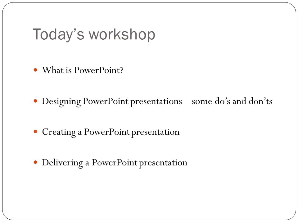 G.S. Betney (2011) How to use PowerPoint effectively