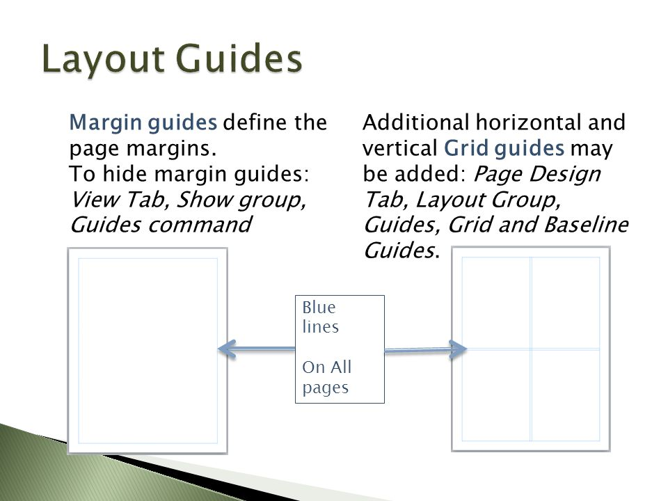 Margin guides define the page margins.
