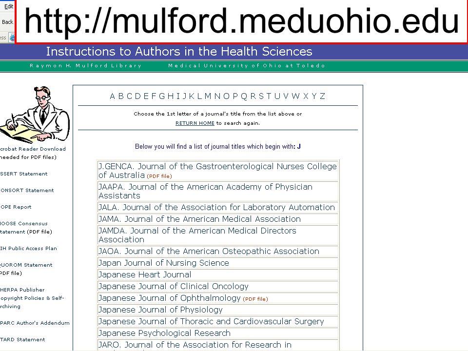 http://mulford.meduohio.edu