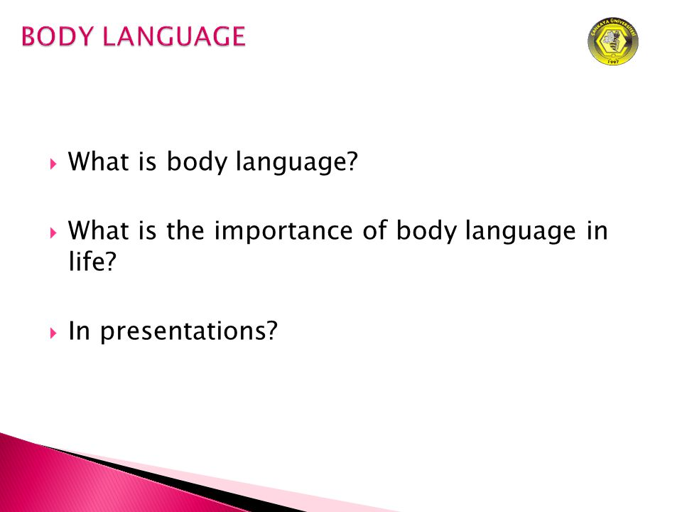  What is body language  What is the importance of body language in life  In presentations