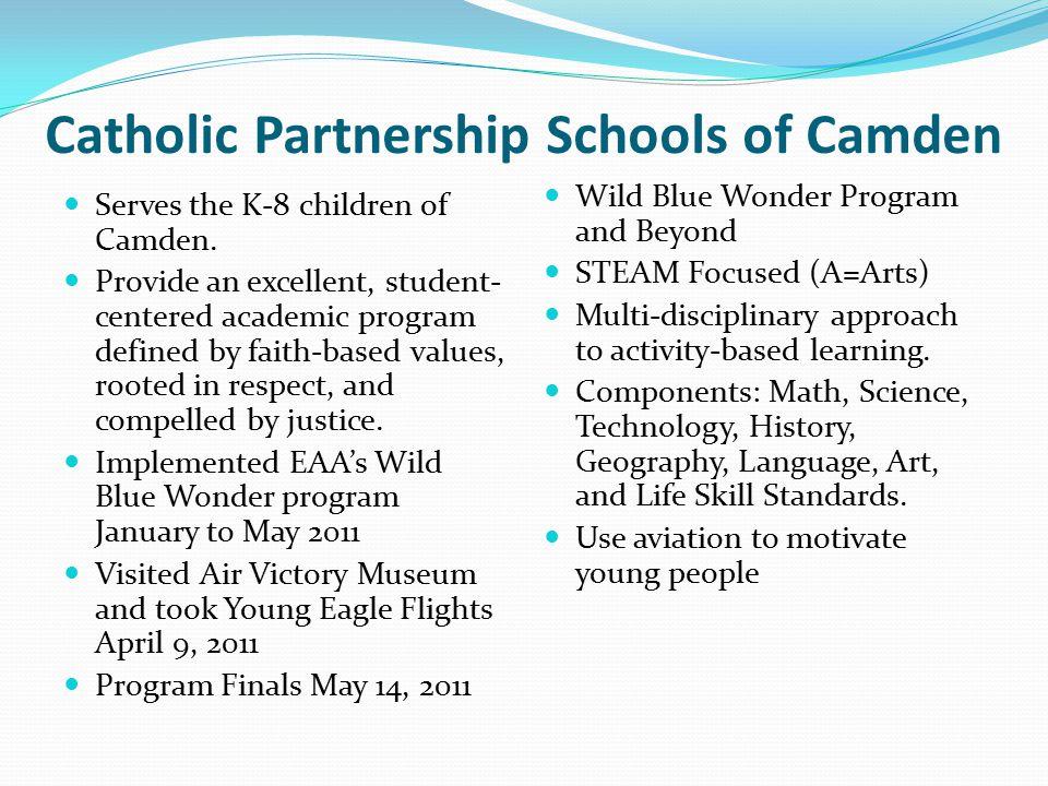 Catholic Partnership Schools of Camden Serves the K-8 children of Camden.