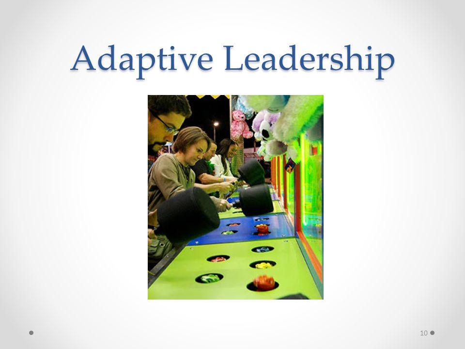 Adaptive Leadership 10