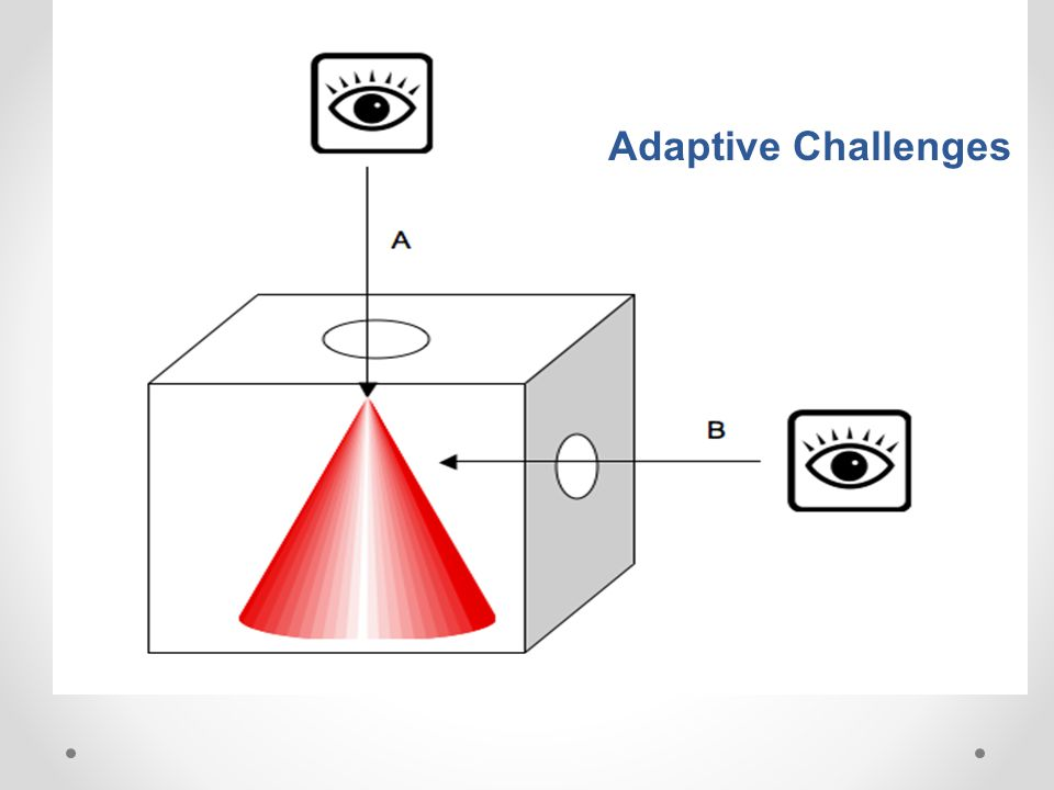 Adaptive Challenges