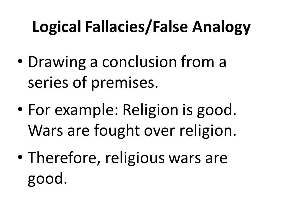 What is a Logical Fallacy.