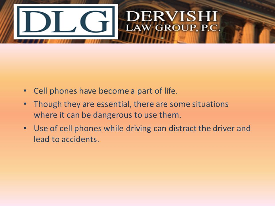 Cell phones have become a part of life.