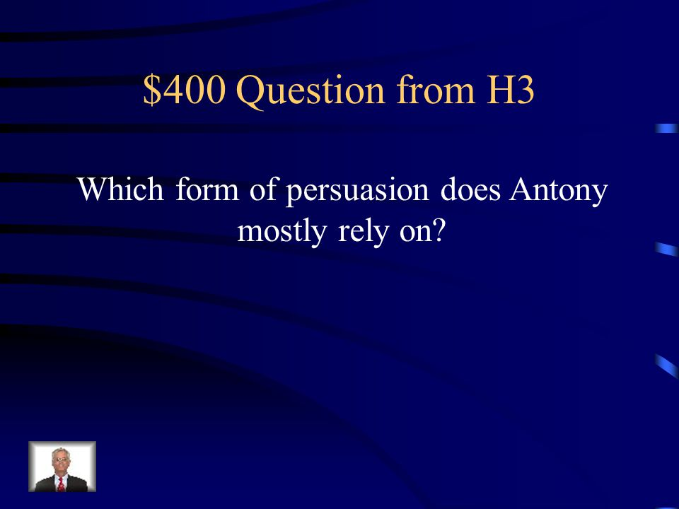 $300 Answer from H3 Ambition