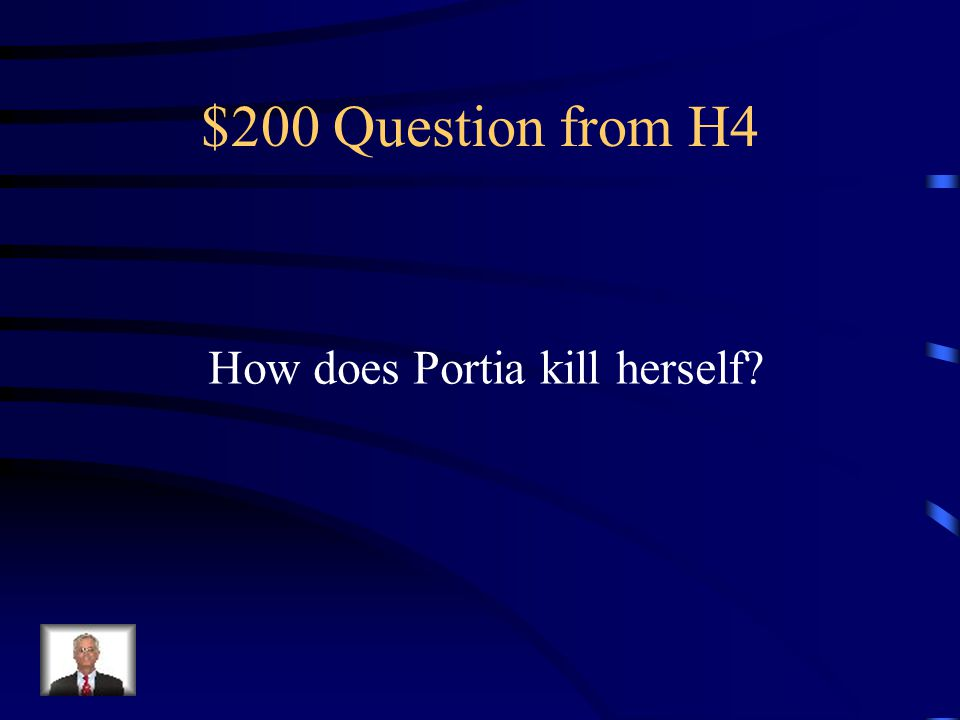 $100 Answer from H4 Horse and a Donkey
