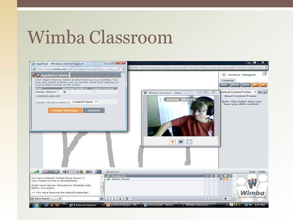 Wimba Classroom
