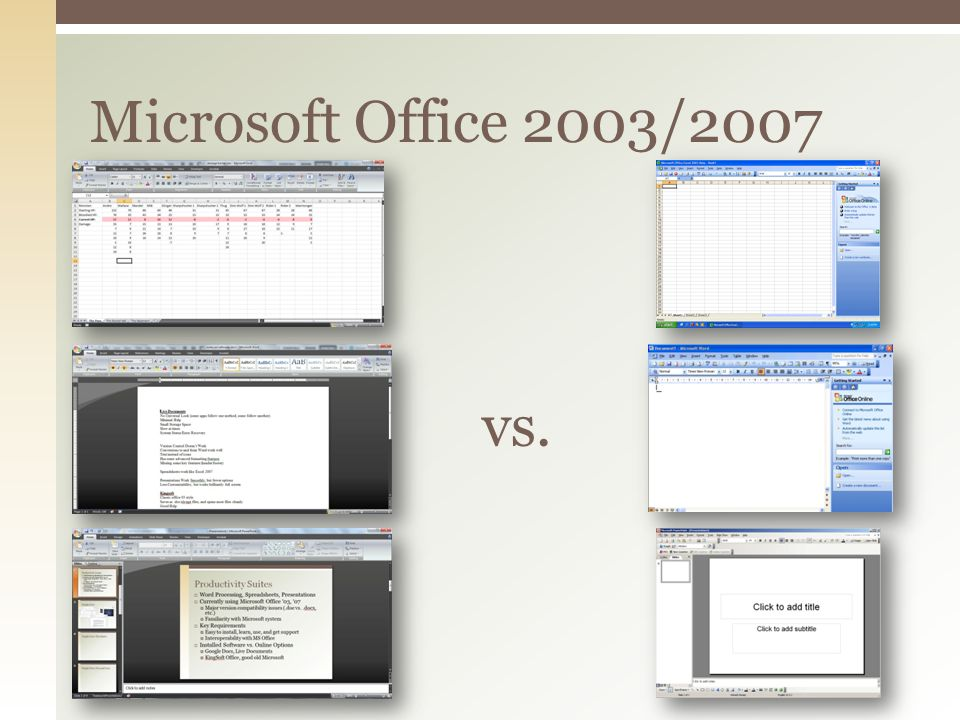  Internal working documents  Google Docs  Creation and sharing of polished work  MS Office/Dropbox  Short-term/long-term plan for schedules  MS Outlook/Google or Yahoo  High-end web conferencing (for now):  Wimba/Blackboard  Future exploration of AnyMeeting Our picks