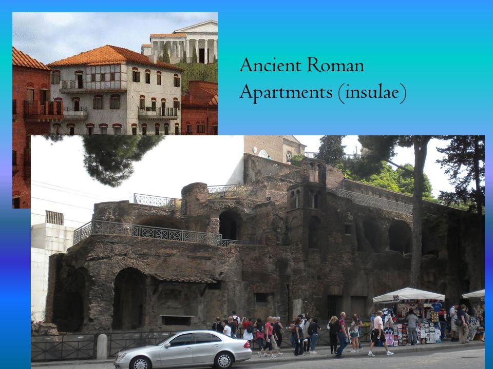 Ancient Roman Apartments (insulae)