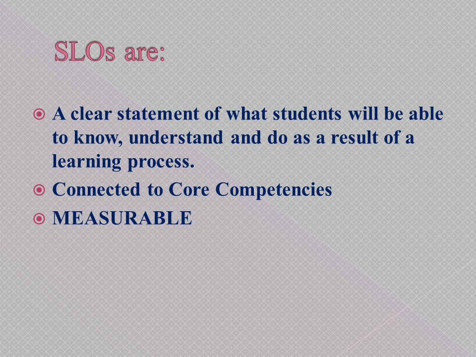 1.The assessment of student learning begins with educational values.