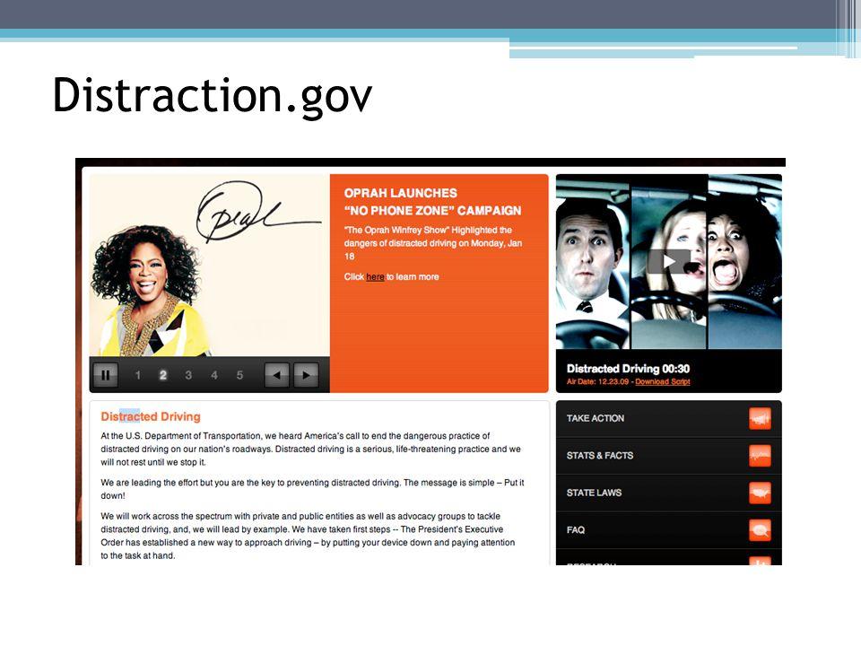 Distraction.gov