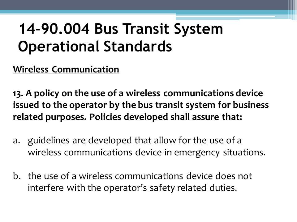 Wireless Communication 13.