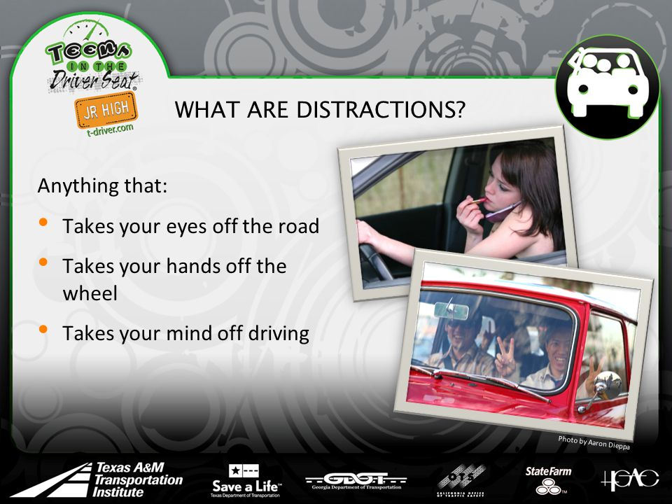 WHAT ARE DISTRACTIONS.