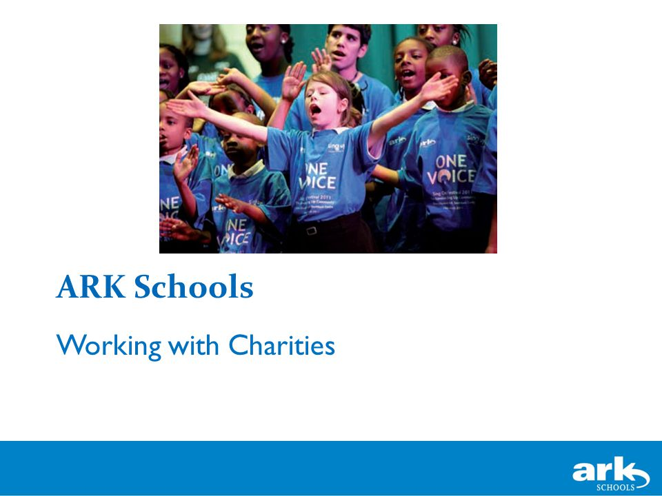 ARK Schools Working with Charities