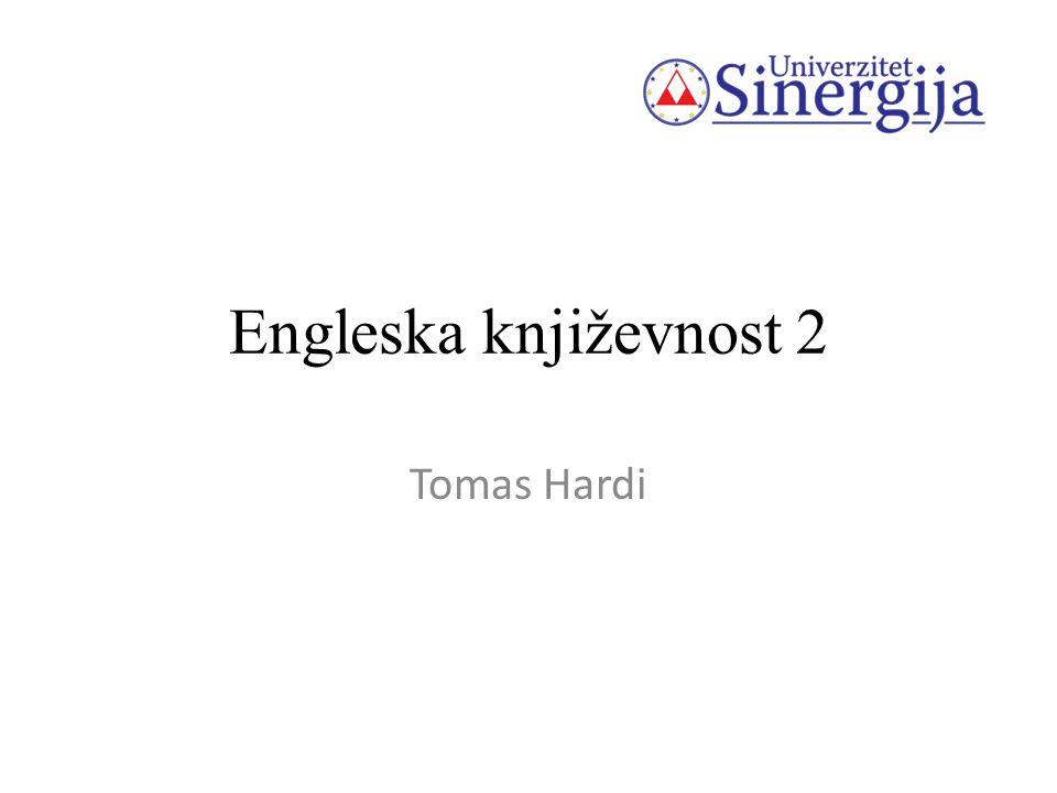 Engleska književnost 2 Tomas Hardi