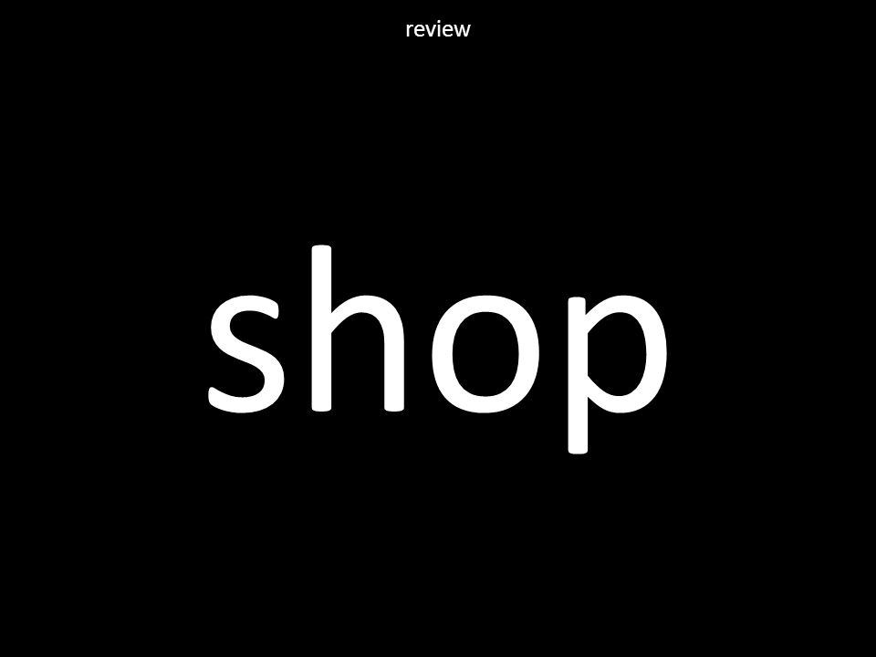 shop review
