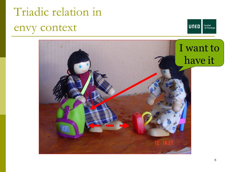 6 Triadic relation in envy context I want to have it