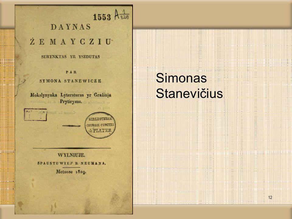 Simonas Stanevičius 12