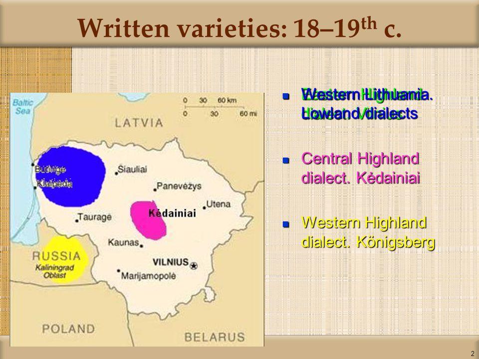 33 Latin and Cyrillic alphabets Green – LithuaniaGreen – Lithuania Purple – Cyrillic alphabetPurple – Cyrillic alphabet Yellow – Latin and other alphabetsYellow – Latin and other alphabets