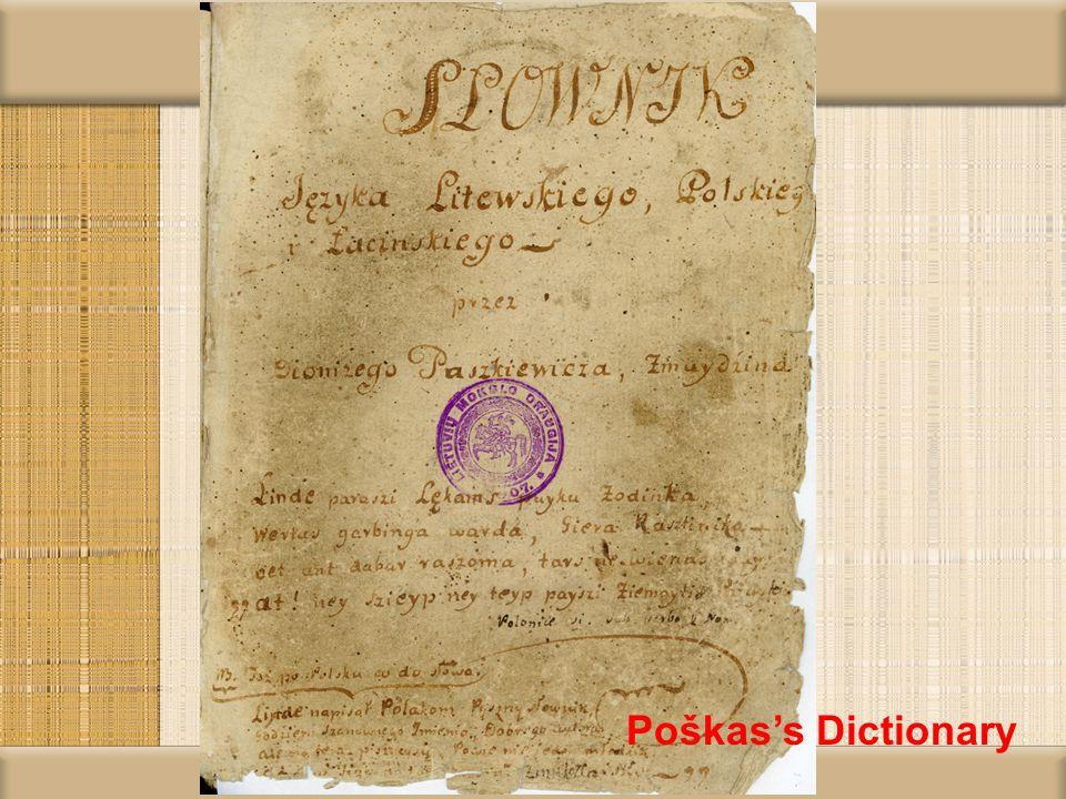 Grammar of Kasakauskis