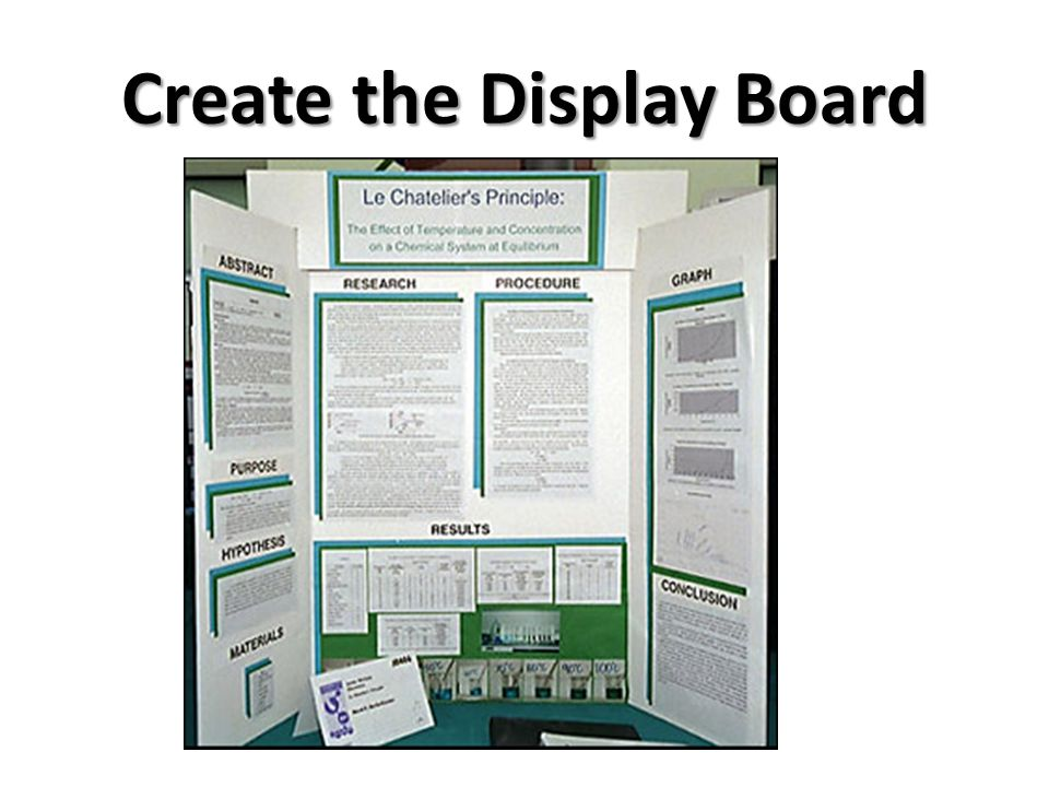 Create the Display Board