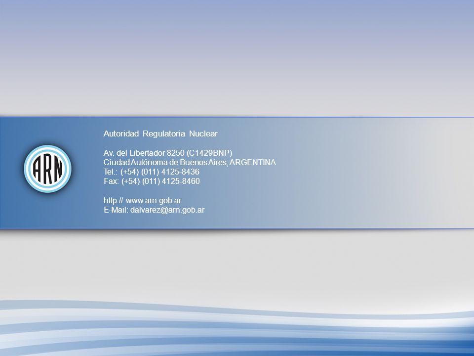 Autoridad Regulatoria Nuclear Av.