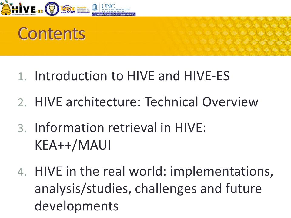  approach for integrating discipline Controlled Vocabularies  Model addressing CV cost, interoperability, and usability constraints (interdisciplinary environment) What is HIVE?