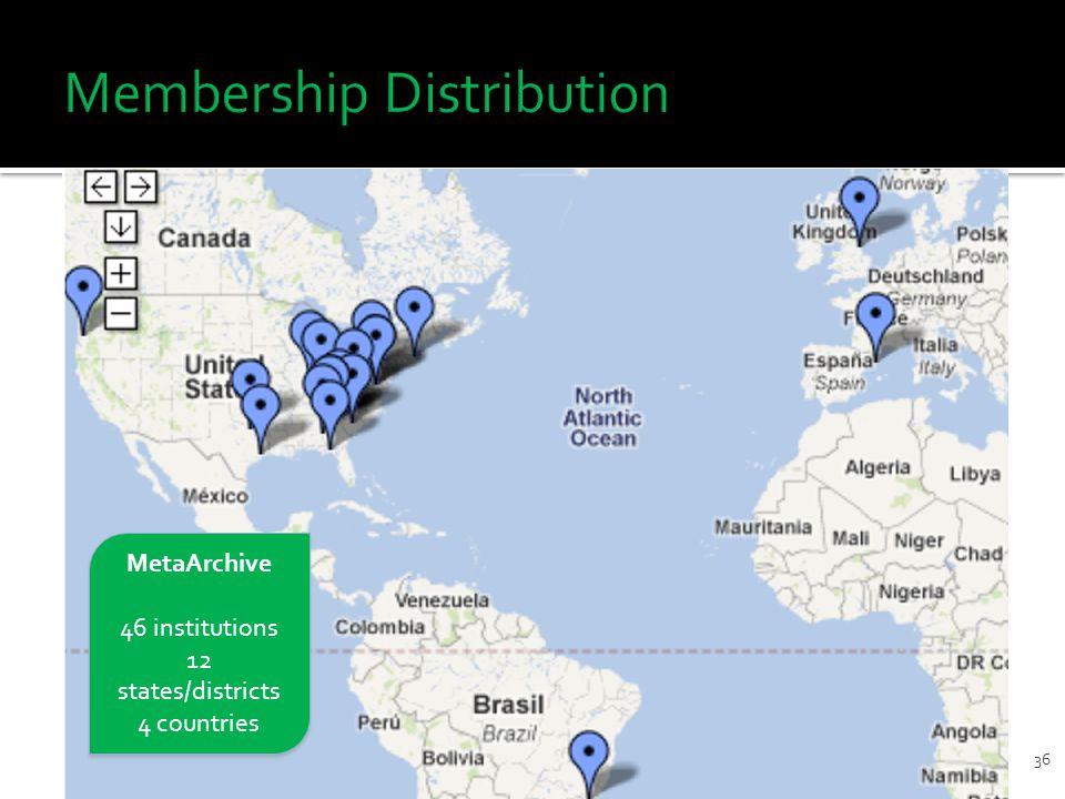 36 9/16/2011DDP Workshop for ETDs MetaArchive 46 institutions 12 states/districts 4 countries MetaArchive 46 institutions 12 states/districts 4 countries