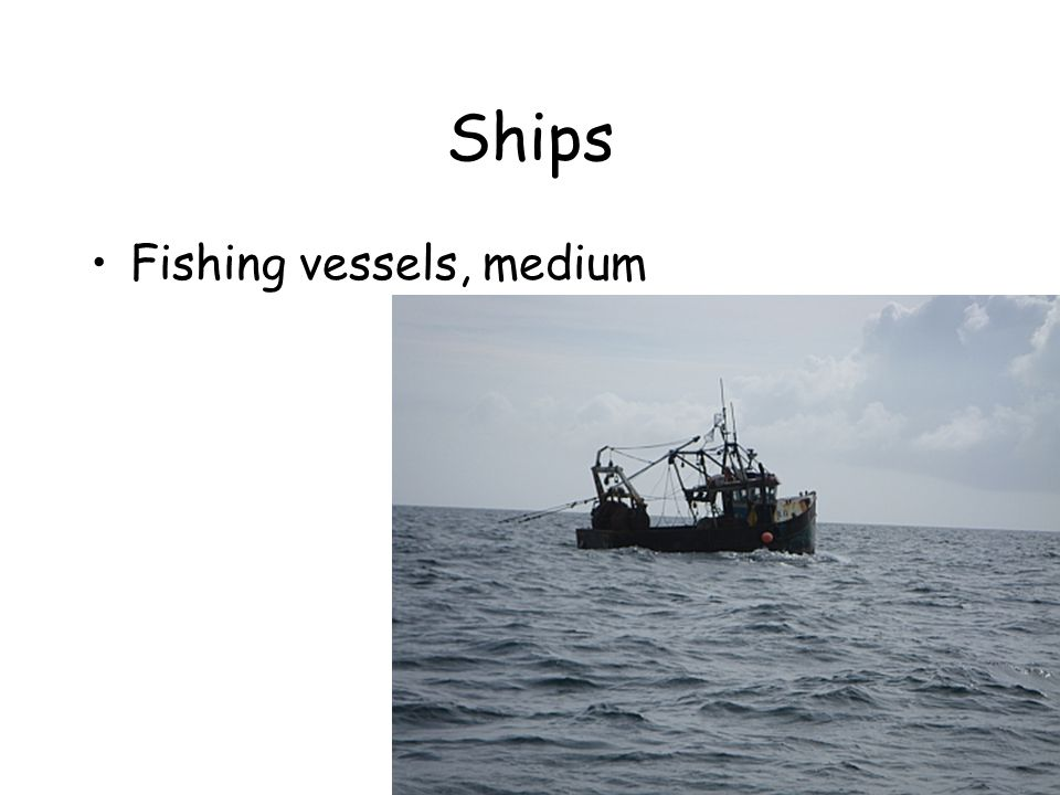 Ships Fishing vessels, medium